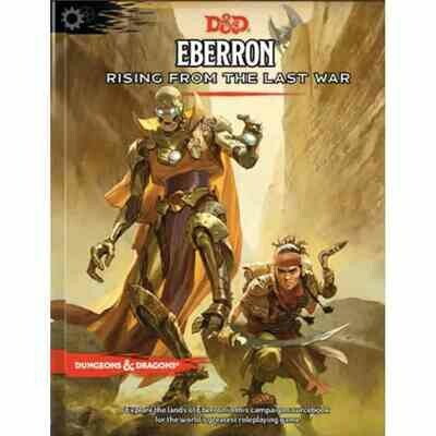DUNGEONS AND DRAGONS 5E HC: EBERRON: RISING FROM THE LAST WAR