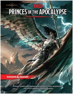 DUNGEONS AND DRAGONS 5E HC: ELEMENTAL EVIL -