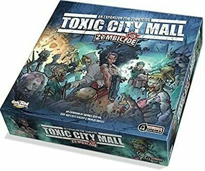 ZOMBICIDE TOXIC CITY MALL EXPANSION
