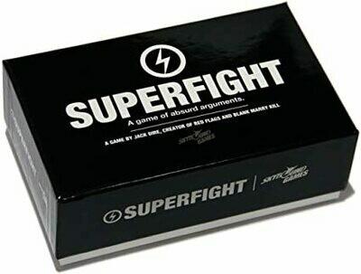 SUPERFIGHT: 500 CARD CORE DECK