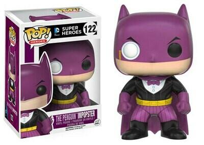 POP DC HEROES BATMAN AS PENGUIN IMPOPSTER VINYL FIGURE #122