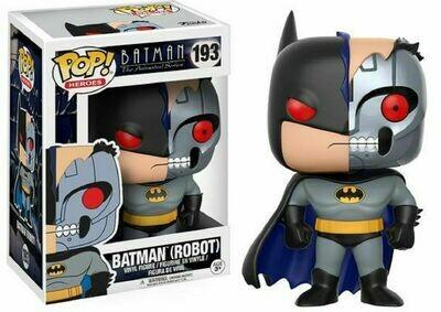 POP HEROES BATMAN THE ANIMATED SERIES BATMAN (ROBOT) VINYL FIGURE #193