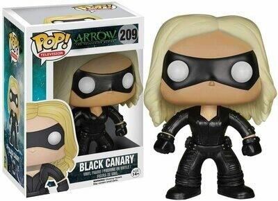 POP ARROW BLACK CANARY VINYL FIGURE #209