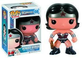 POP HEROES WONDER WOMAN PX VINYL FIGURE #8 (NEW 52 VERSION)