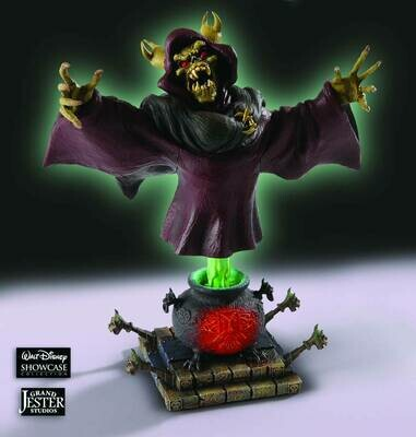 GRAND JESTER BLACK CAULDRON HORNED KING MINI-BUST