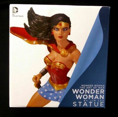 WONDER WOMAN ART OF WAR WONDER WOMAN STATUE