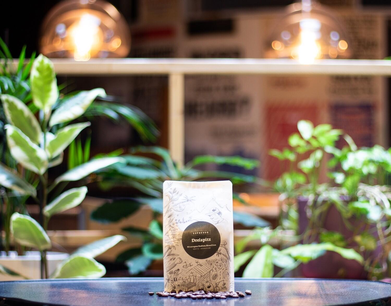 Lokal gerösteter Kaffee