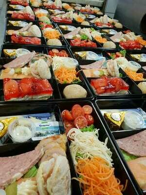Plateaux repas - composition du jour - VIANDE