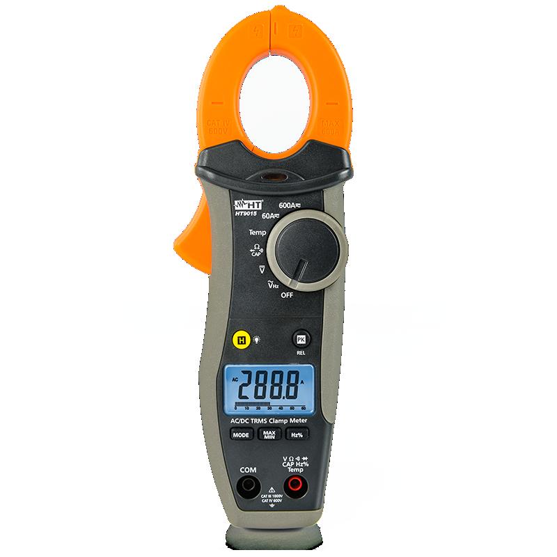 HT 9015-Pinça Amperimétrica Digital 600A ACD