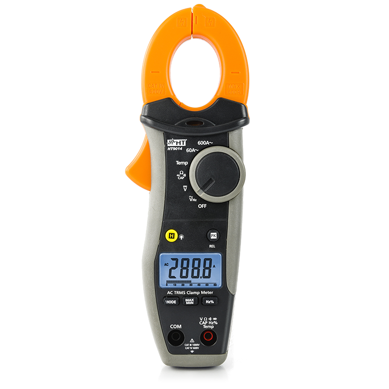 HT 9014P Kit Pinça Amperimétrica Digital 600A Oferta Power Bank