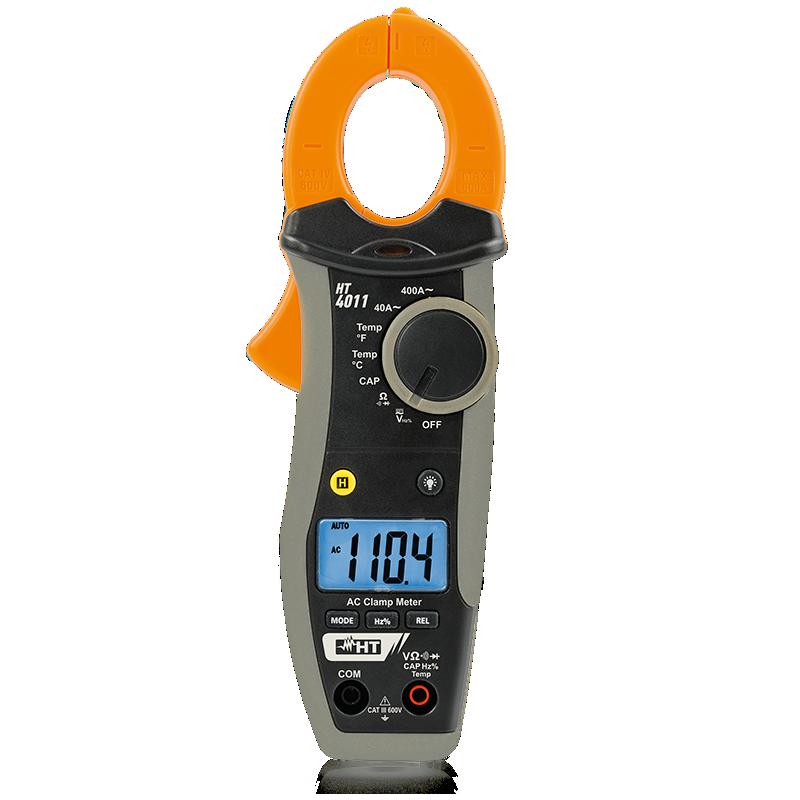 HT 4011- Pinça Amperimétrica Digital 400A Ct3