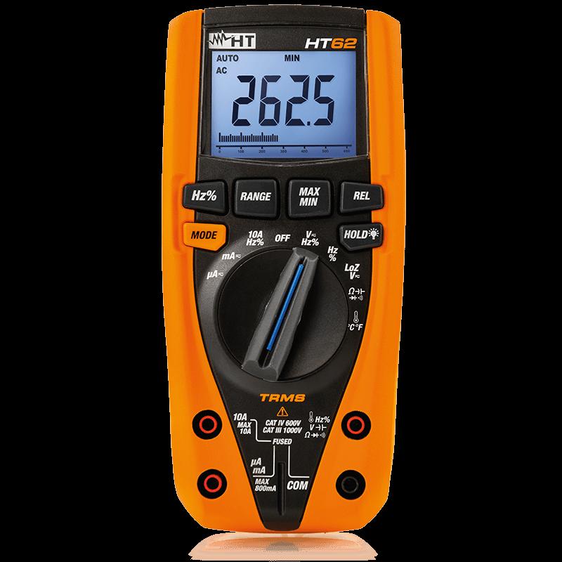 HT 62-Multímetro Digital TRMS