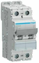NRN202-Disjuntor 2P 2A C 25kA 2M