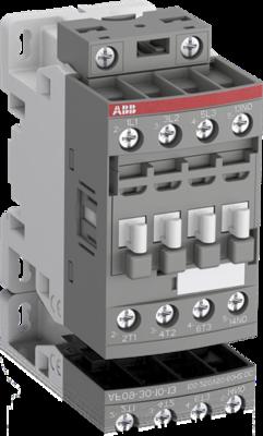 AF09/30/01-Contactor 3A+1F 100/250V