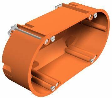 HG 60 2 - Caixa aparelhagem dupla p/pladur
