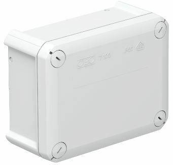 T 100 OE - Caixa de derivação lisa