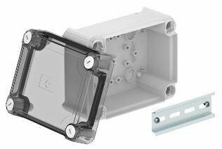 T 100 OE HD TR - Caixa de derivação lisa c/tampa alta