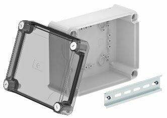 T 160 OE HD TR - Caixa de derivação lisa c/tampa alta