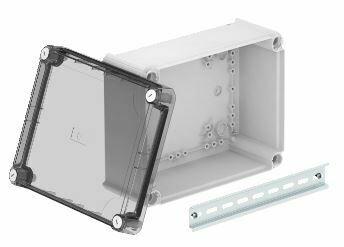 T 250 OE HD TR - Caixa de derivação lisa c/ tampa alta