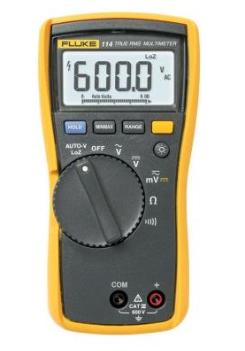 FLUKE 114-Multímetro Digital TRMS