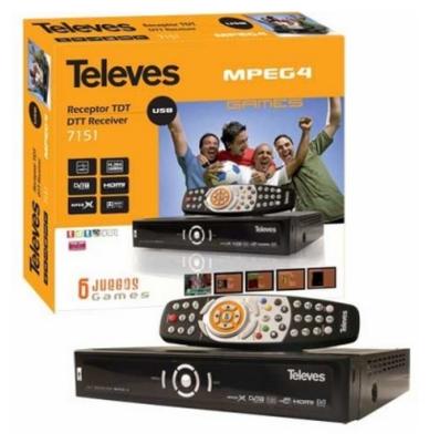 7151 - Recetor TDT MPEG4