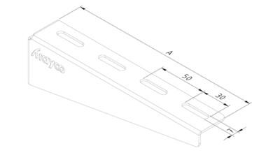 WB11/0150/PG-Suporte universal 150mm