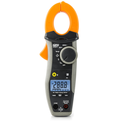 HT 9014L-KIT Pinça Amperimétrica Digital 600A Oferta Lanterna
