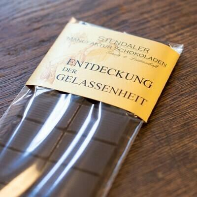 Schokolade - Entdeckung der Gelassenheit - 85 % Kakao