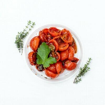 Kleine Tomaten getrocknet - karamellisiert