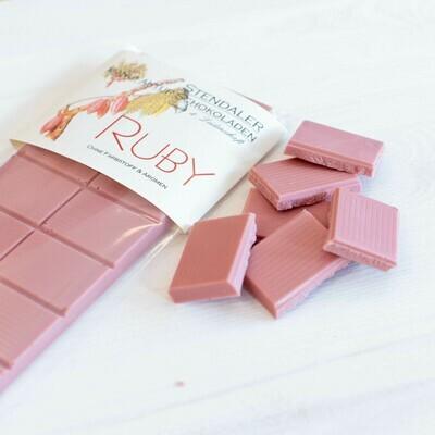 Schokolade - Ruby - Rubinrot mit Kakao von der Elfenbeinküste