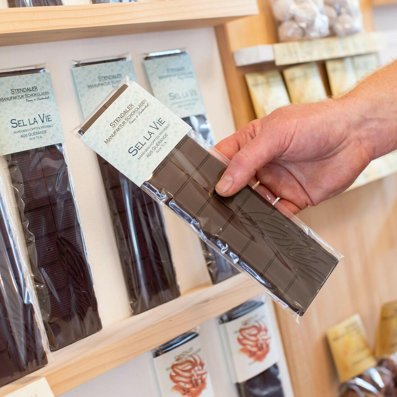 Schokolade - Sel La Vie - 70 % - Mit Meersalzflocken