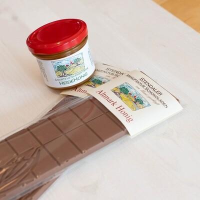 Schokolade - Altmark Honig - 45% Kakaoanteil
