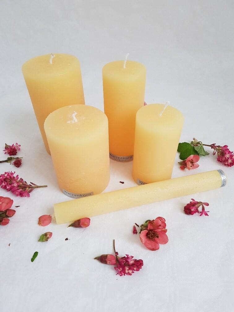 Kerzen pastelgelb