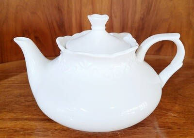 Porzellan Teekrug