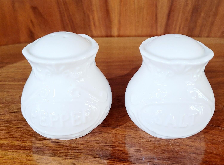 Porzellan Salz & Pfeffer Streuer
