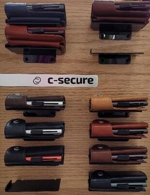 Leder-Kartenhülle c-secure