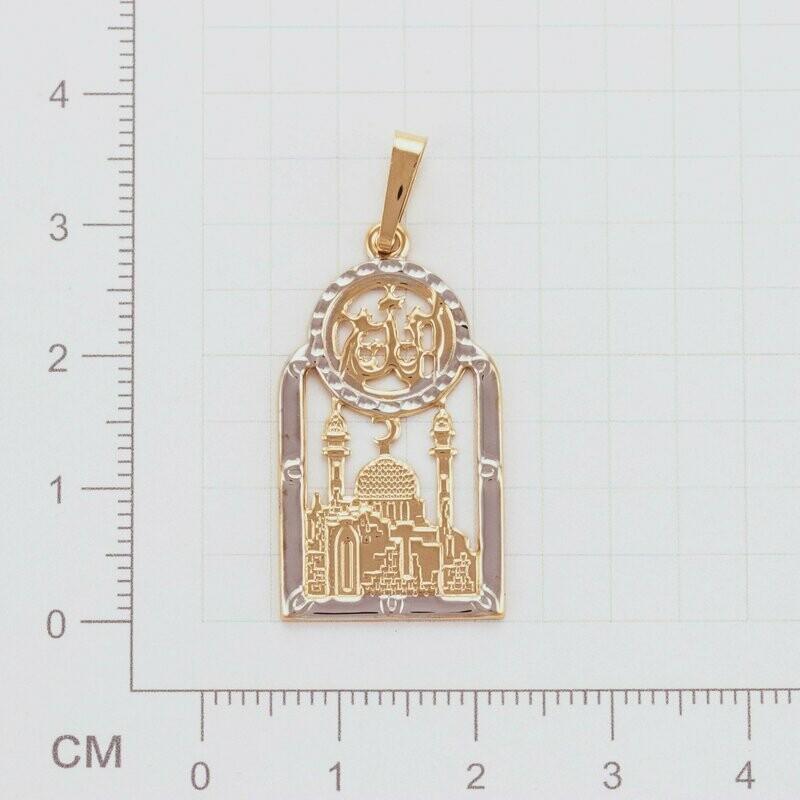 Подвеска Пр аж М (Золото 585)