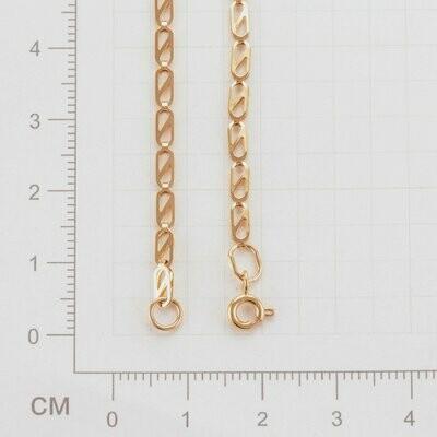 Браслет 58  длина 165  мм золото 585