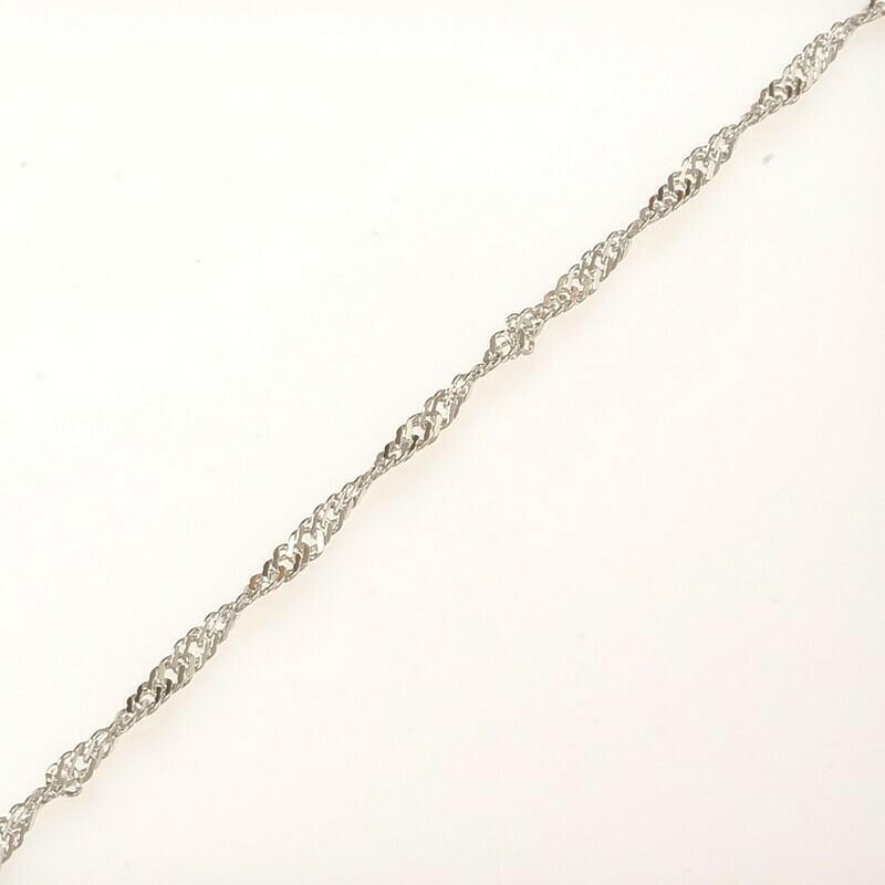 Серебряный браслет (размер 18)