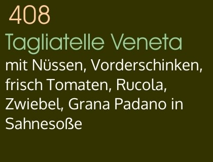 Tagliatelle Veneta