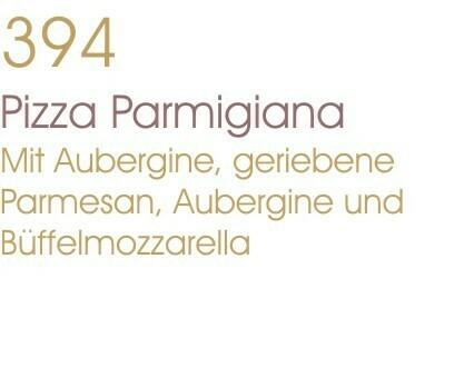 Pizza Parmigiana