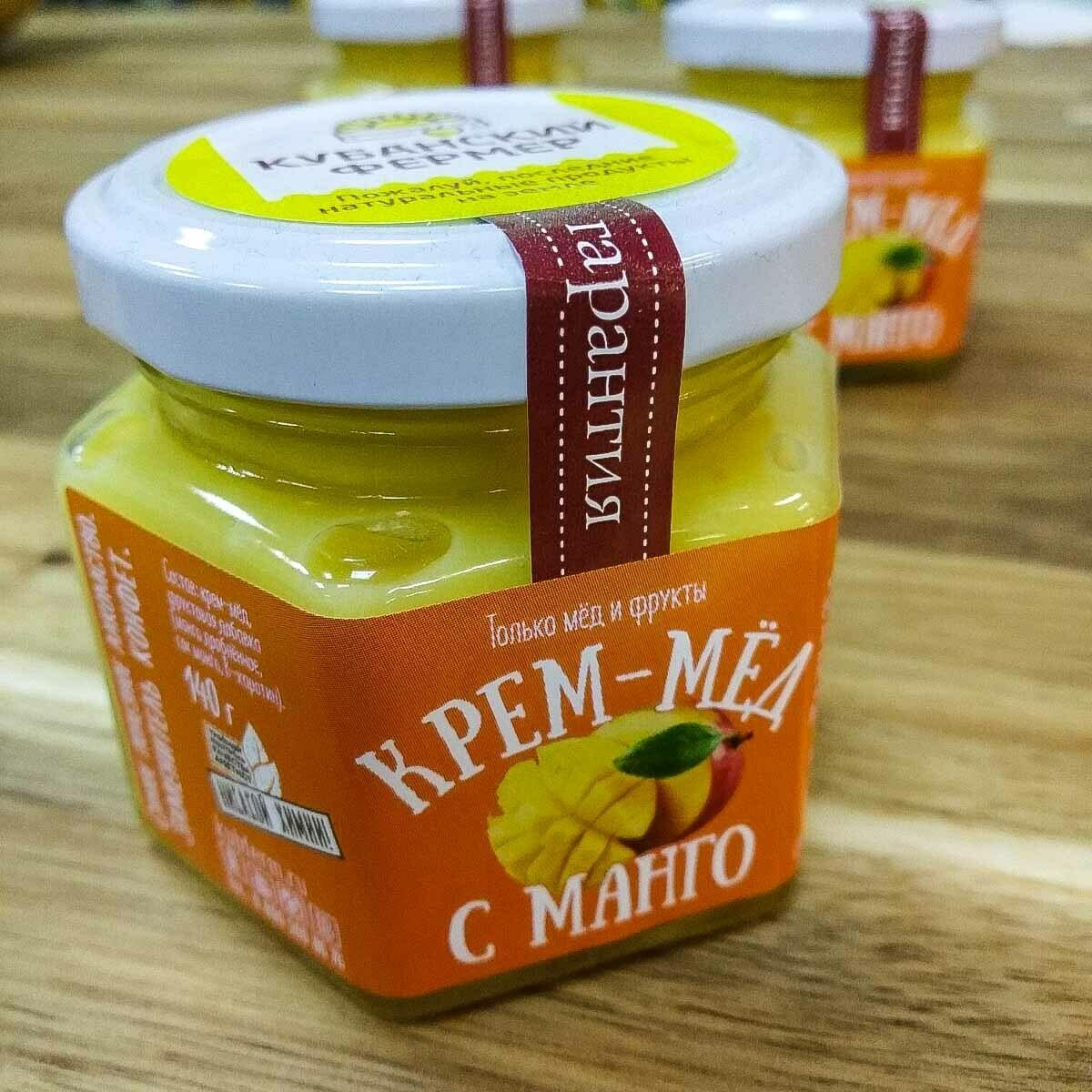 Крем-мёд с МАНГО