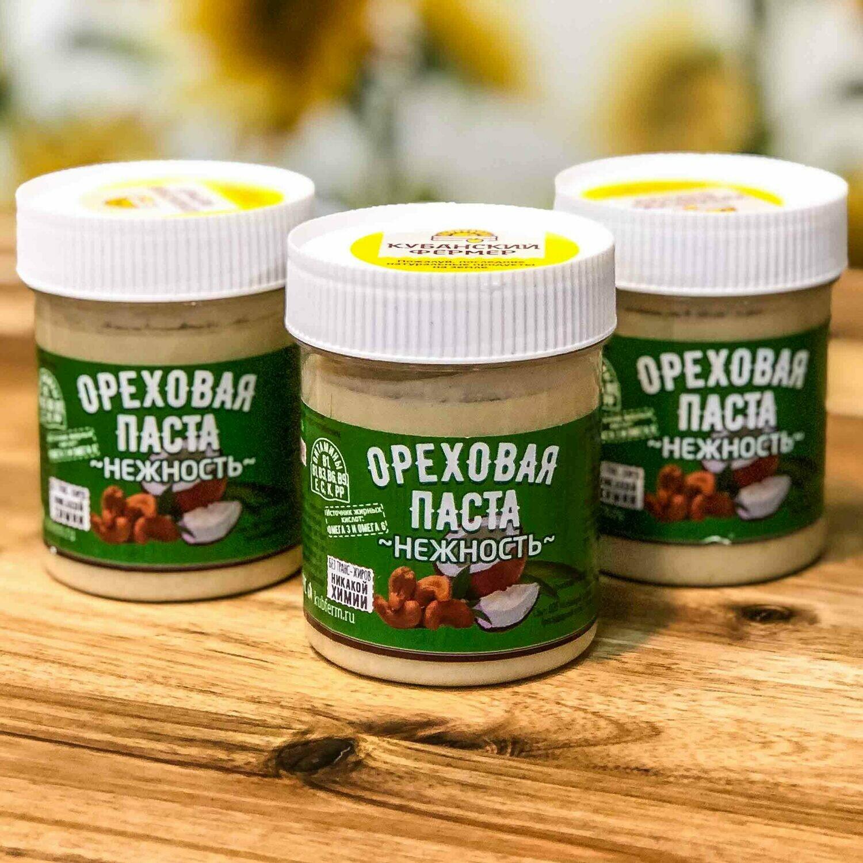 Ореховая паста Нежность-БЕЗ САХАРА