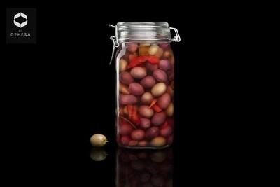 Olives Vertes du Désert non pasteurisées - 500g