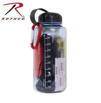 Water Bottle Survival Kit