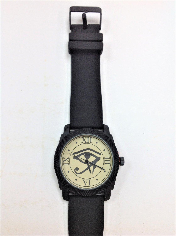Eye of Horus Watch - Black