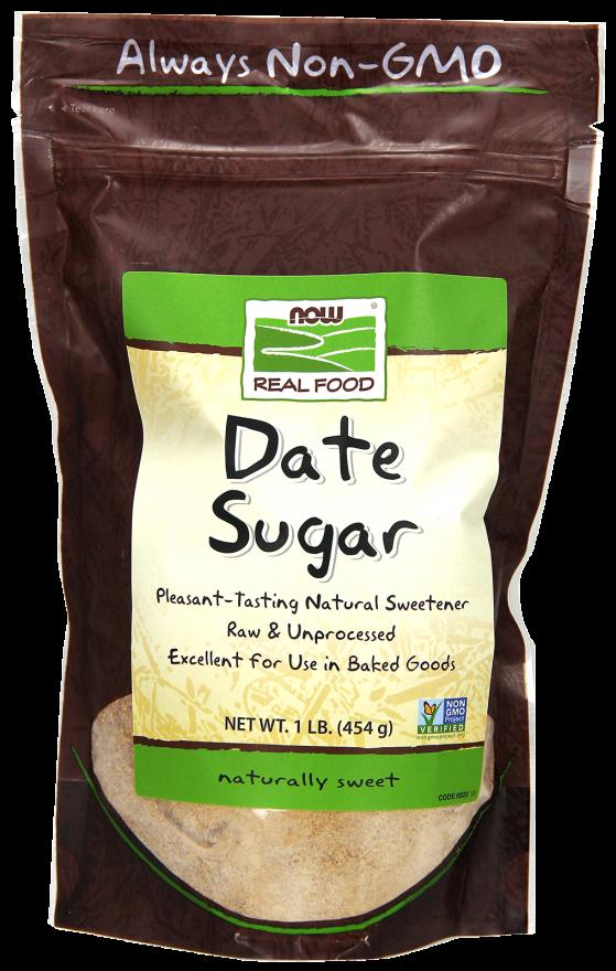Date Sugar Raw & Unprocessed 1lb
