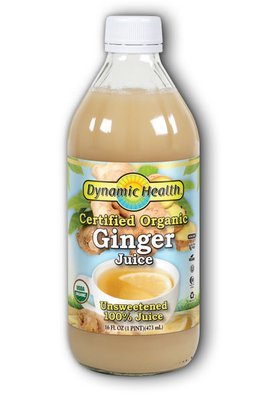 Dynamic Health Ginger Juice 16 Ounces