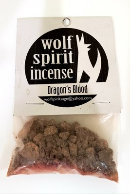 Wolf Spirit Incense Dragon's Blood