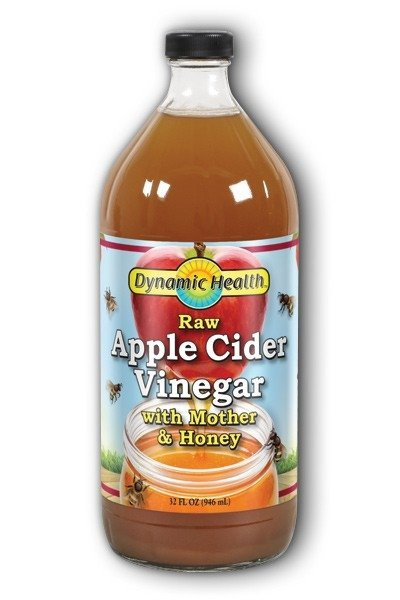 "Organic Apple Cider Vinegar with "" Mother""  32 fl oz (946 ml)"